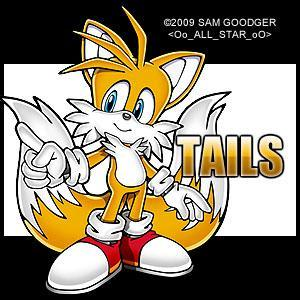 in what game did tails have befor he was with sonic