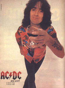 In which town was Bon Scott born?