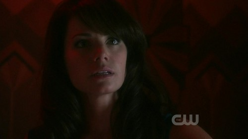 She's talking to Clark. T/F?