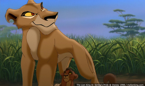 Who does the voice of Zira?