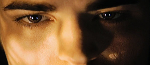 What color were Edward's eyes when he was still human?