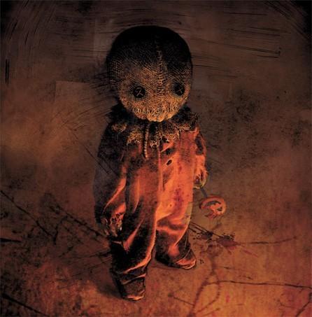 What is the character, that stops door in every story, in Trick 'r Treat called?