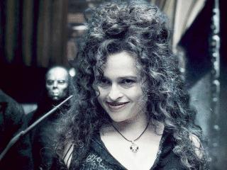 She helped create the dress for her Bellatrix LeStrange costume?