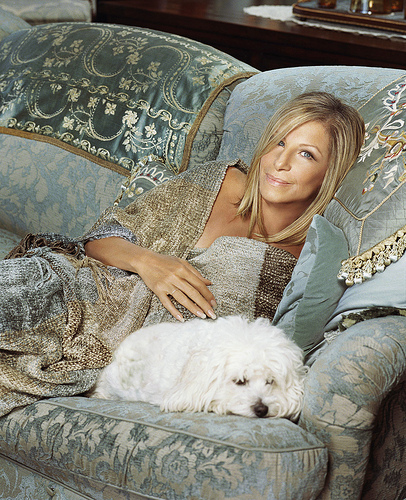 What's the name of Barbra's pet?