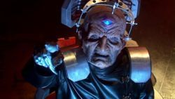 In which story do we first meet Davros?