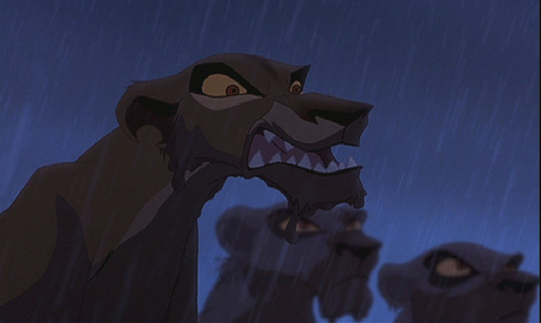 Simba tried to save Zira after the battle between the prides.