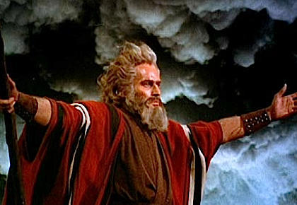 What did God command to Moses?
