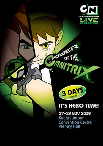 How many aliens appear at Ben 10 Power Of The Omnitrix?