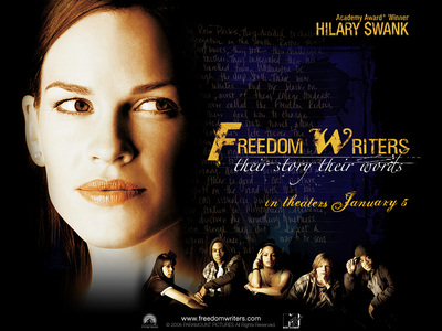 """In """"Freedom Writers"""" she played ?"""
