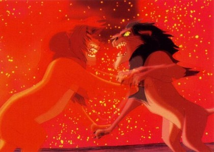 Simba & Scar fight: who attacked first?