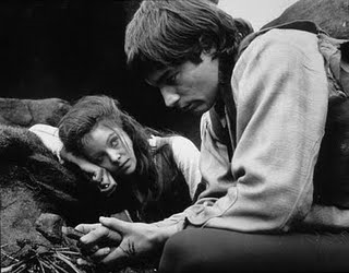 Which adaptation of Wuthering Heights is this picture of Heathcliff and Cathy from?