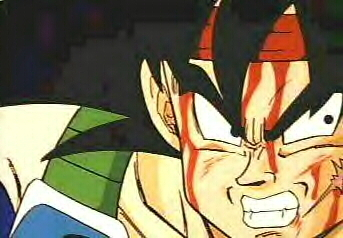 Who does the rag Bardock ties around his head belong to?