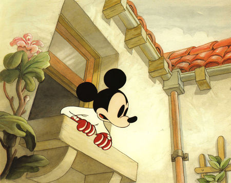Which Mickey's cartoon is this picture from ?