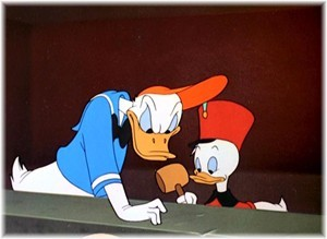 Which Donald Duck's cartoon ?