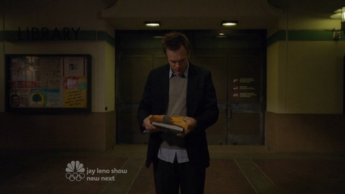 What word is written on the last sheet of paper from the packet Duncan gives Jeff in the Pilot?