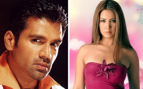 Wat movie r Sunil Shetty an Kim Sharma in together?(not as couple)