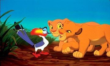 What did Zazu call young Simba?
