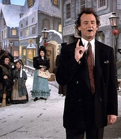 Christmas Films - Bill Murray is starring in which film ?