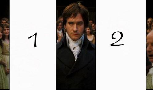 2005 movie. The fist ball in Meryton. Where is Mr. Bingley?