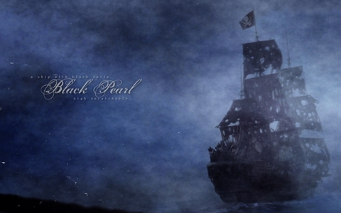 "I what part of ""Pirates"" did Davy Jones and Jack Sparrow saw at The Black Pearl?"