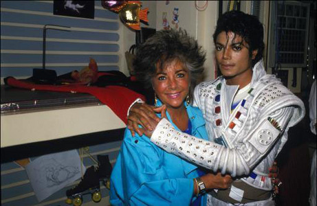 Michael कहा about Elizabeth Taylor : She's Mother Teresa, Princess Diana, the क्वीन of England, and ______.