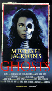 T/F : Stephen King collaborated with Michael Jackson to create Ghosts ?