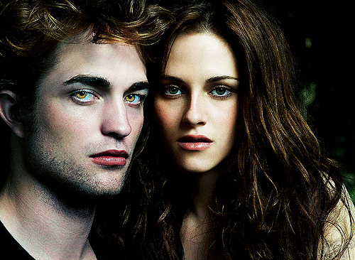 What movie do Edward and Bella watch together in New Moon?