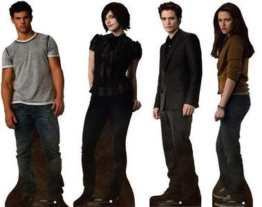 What's the name of each of these 4 twilight people?