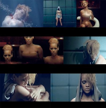 The music video for ' Russian Roulette ' was shot in which country ?