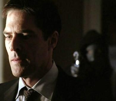How many times did the 'Reaper' stab Hotch??