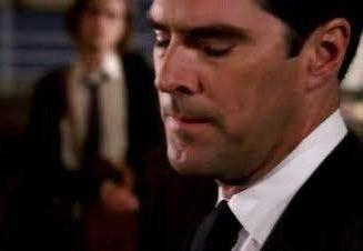 At the end of the episode 'Doubt', Section Chief Strauss holds Hotch accountable fo the death of a young girl and suspends him for 2 weeks without pay. His parting comment