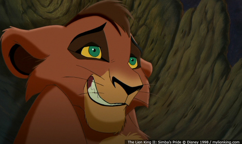 True/False:Origionally Kovu was going to be the son of Scar?