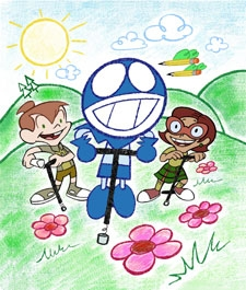who's name of rudy's friends? (in chalkzone)