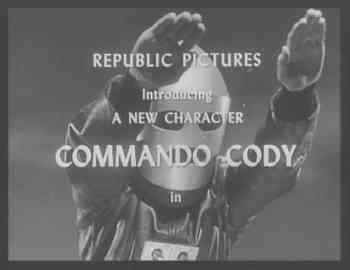 In which serial is Commando Cody featured ?