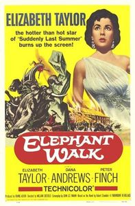 "Elizabeth Taylor : In ""Elephant Walk"" she played ?"