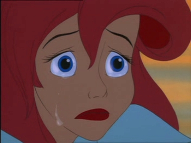 Why did Ariel cry?