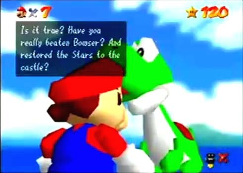 how many 1ups do you get from Yoshi in Super Mario 64