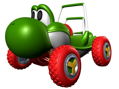 What is Yoshi's SPECIAL item in Mario Kart Double Dash GCN