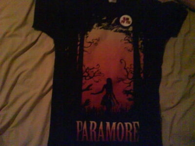 What store did I buy my Paramore T-shirt from?