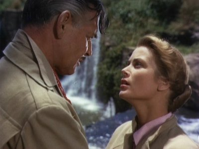 "Grace Kelly : In ""Mogambo"" she played ?"