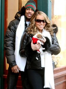 WHAT IS MARIAH'S NEWBORN perrito, cachorro NAME