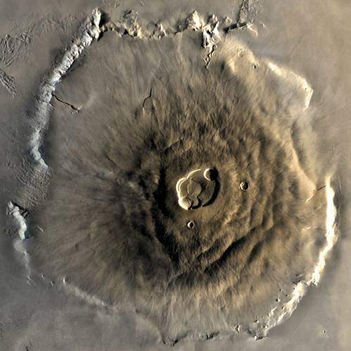 Olympus Mons is located in which planet?