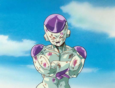 What color are Frieza's claws?