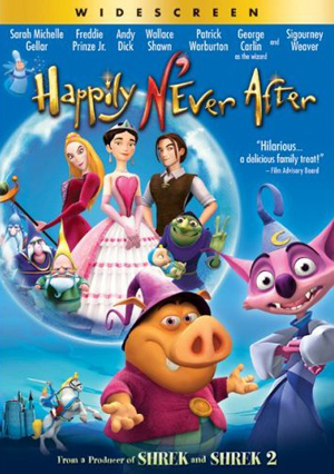 When was Happily N'ever After released?