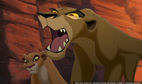"Who did Zira say this to~""You Killed your own brother!"""