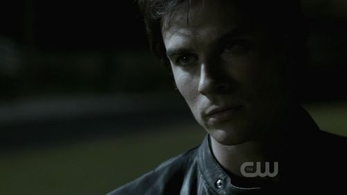 This screencap of Damon is immediately before he meets Emily/Bonnie.