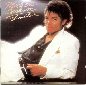 How many singles from the album THRILLER ?