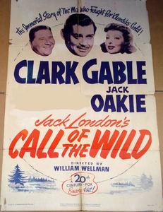 CLARK GABLE'S PARTNER : The call of the Wild ?