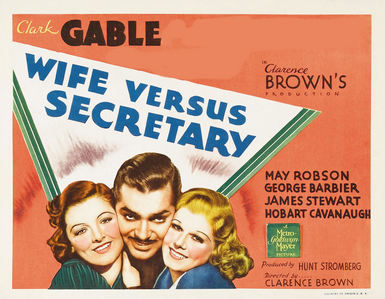 CLARK GABLE'S PARTNERS : Wife Vs Secretary ?
