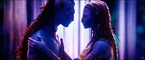 What is the name of the tree which allows the Na'vi to hear the voices of their ancestors, which is also the location where Jake and Neytiri choose each other as mates?